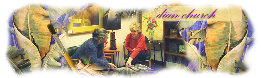 Artist Dian Church Consults with Client
